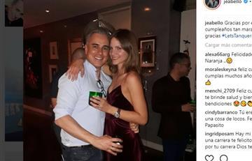 A sus 50 años, Jorge Enrique Abello será nuevamente papá
