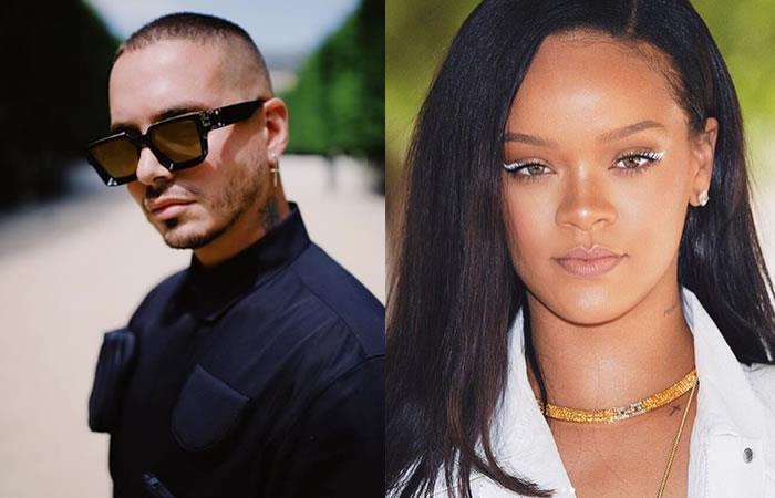 Video: J Balvin conoció a Rihanna y así fue el encuentro