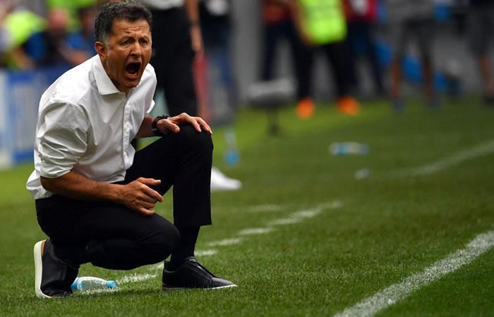 Juan Carlos Osorio ya se prepara para el próximo partido de México. Foto: AFP