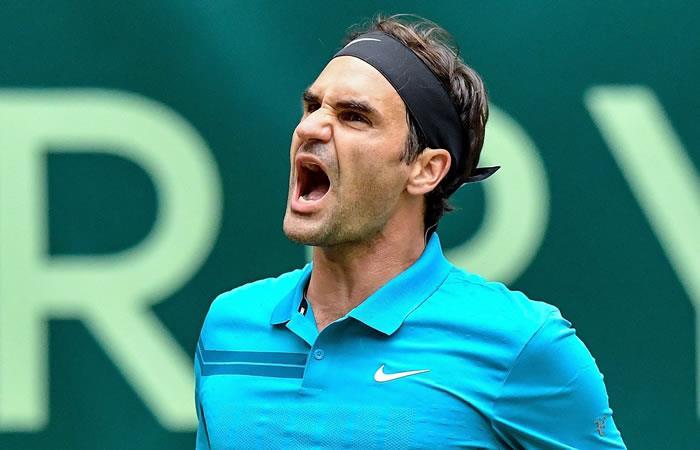 Roger Federer se instala en las semifinales de Halle