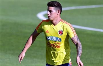 Selección Colombia: James Rodríguez sería titular ante Polonia