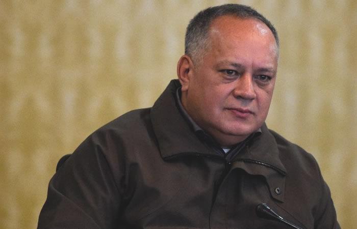 Diosdado Cabello, presidente de la Asamblea Constituyente de Venezuela. Foto: AFP