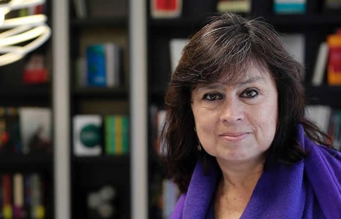 Laura Restrepo escritora y periodista colombiana. Foto: EFE