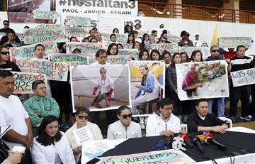 El lunes darán dictamen final sobre si cuerpos son de periodistas de Ecuador