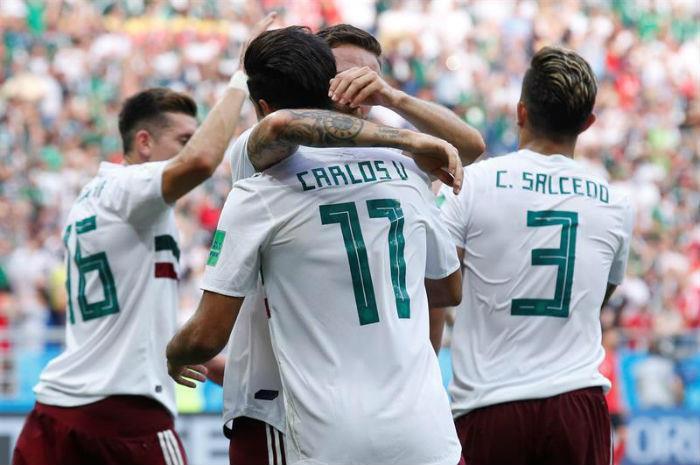 México le ganó a Corea del Sur y se acerca a la clasificación