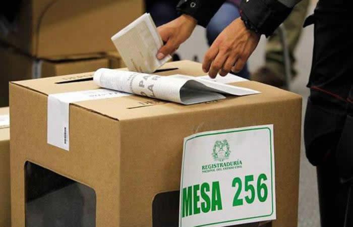 La Registraduría Nacional no abrirá un nuevo proceso de inscripción. Foto: AFP