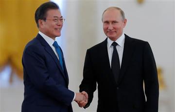 Rusia: Putin buscará una gran cumbre entre las dos Coreas, China y Japón