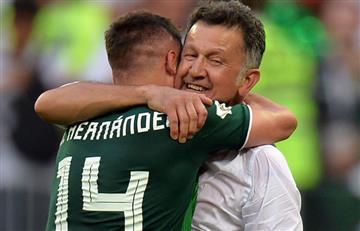 'Chicharito' Hernández le dedicó el triunfo de México a Juan Carlos Osorio
