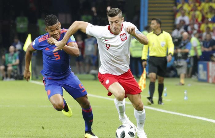 Colombia ganó y goleó a Polonia 3 goles a 0. Foto: EFE