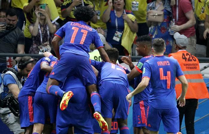 El Bayern Múnich, el Barcelona, la Juventus y otros clubes que celebraron con Colombia