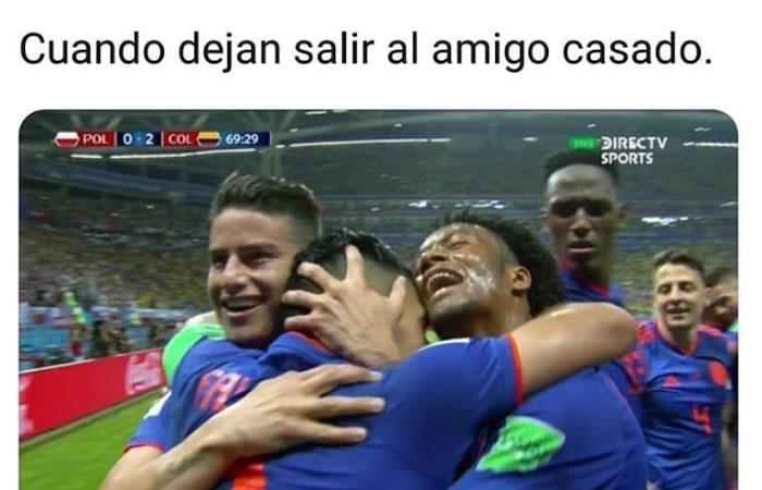 Selección Colombia: Los mejores memes de la victoria de la 'tricolor'