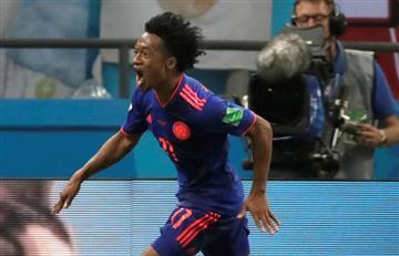 Selección Colombia: Y no hay tercero malo, así fue el golazo de Cuadrado