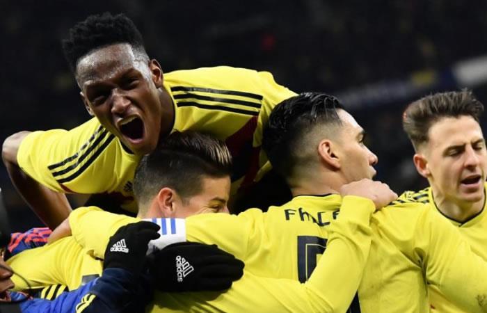 Selección Colombia: ¡Así fue el gol de Yerry Mina!