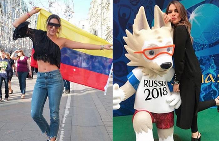 Así celebraron Daniela Ospina y la hermana de James el triunfo de Colombia