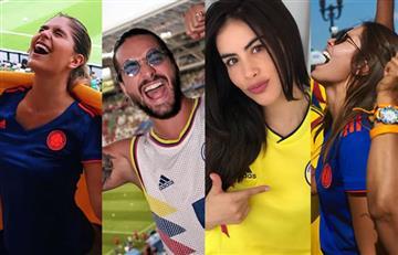 Así celebraron los famosos la victoria de Colombia contra Polonia