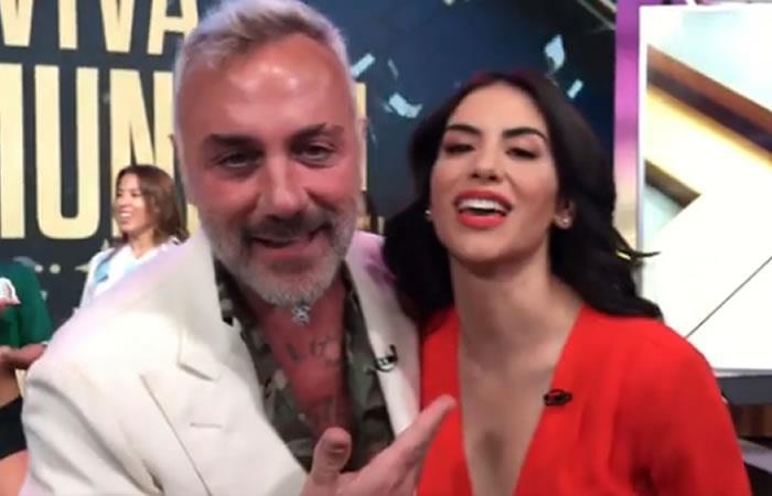 Baile de Jessica Cediel y Gianluca Vacchi es furor en redes