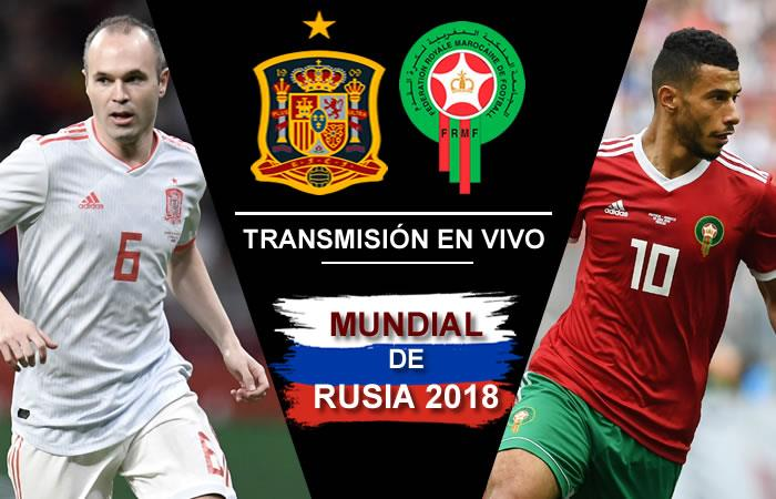 España vs. Marruecos: Transmisión EN VIVO online