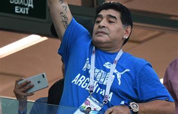 Maradona se declara hincha de la selección de México de Osorio