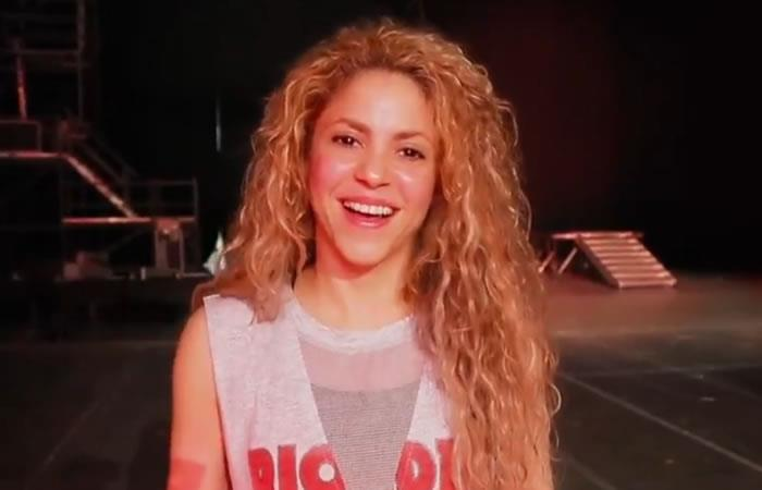 Shakira y la emotiva celebración con su familia del triunfo de Colombia en Rusia