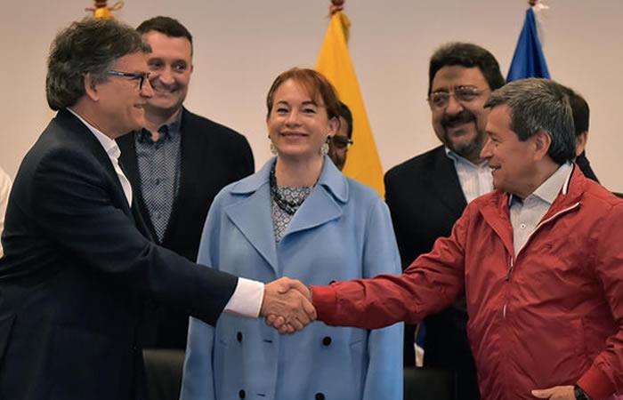 Los diálogos se retomarán en julio. Foto: AFP
