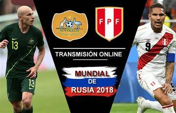 Australia vs. Perú: Transmisión EN VIVO online