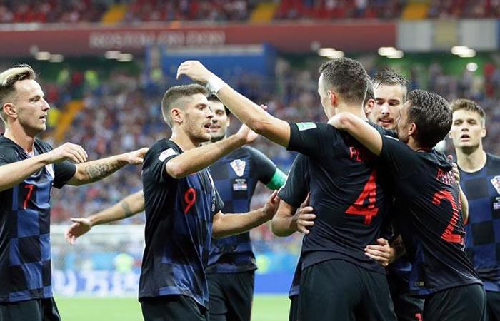 Croacia ganó y se clasificó primero del grupo D