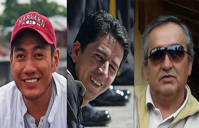 Cuerpos de periodistas ecuatorianos serán repatriados. Foto: AFP