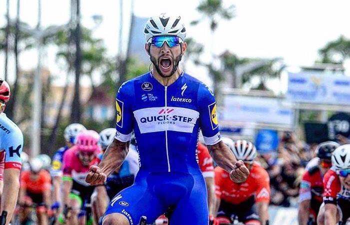 Fernando Gaviria listo para el Tour de Francia con el Quick Step