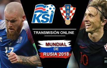 Islandia vs. Croacia: Transmisión EN VIVO online
