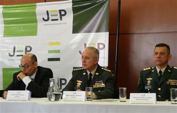 JEP: Comandante de las FF.MM. y MinDefensa piden aprobar la reglamentación