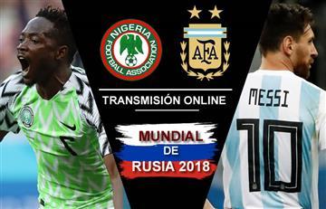 Nigeria vs. Argentina: Transmisión EN VIVO online