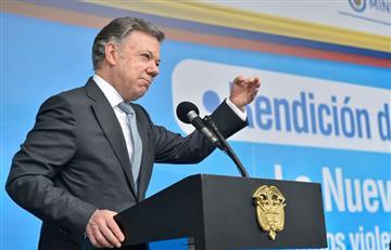 """Santos: """"Es muy fácil venir a criticar a Colombia"""", ante el aumento de cultivos ilícitos"""