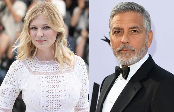 YouTube produce una serie de comedia junto a Kirsten Dunst y George Clooney. Foto: AFP
