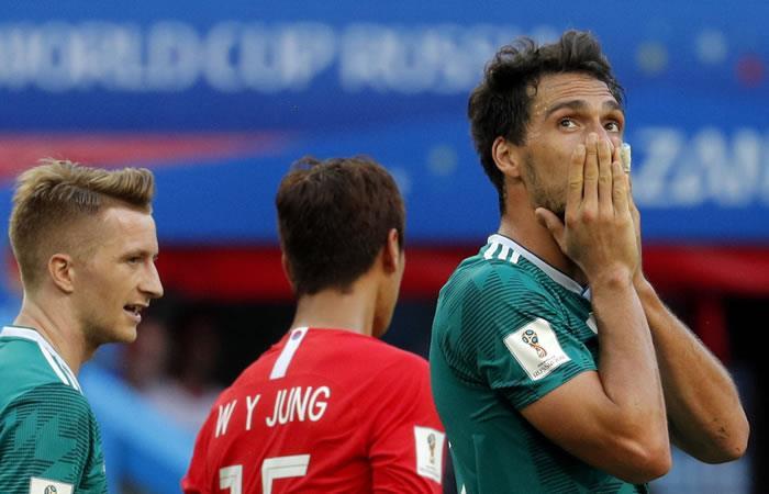 ¡Alemania se quedó por fuera del Mundial!