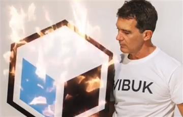 Antonio Banderas lanzó en Colombia una red social laboral para artistas