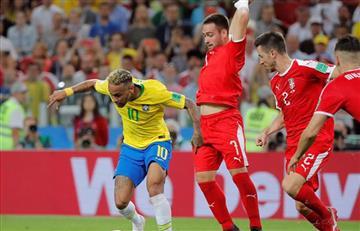 Brasil ganó y aseguró un cupo en los octavos de la Copa del Mundo