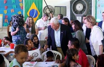 EE.UU. donará $10 millones a Brasil para ayudar a migrantes venezolanos