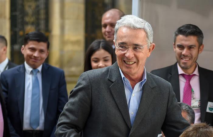 Álvaro Uribe, senador del Centro Democrático. Foto: AFP