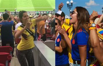 Paulina Vega celebró el triunfo de Colombia al ritmo de J Balvin