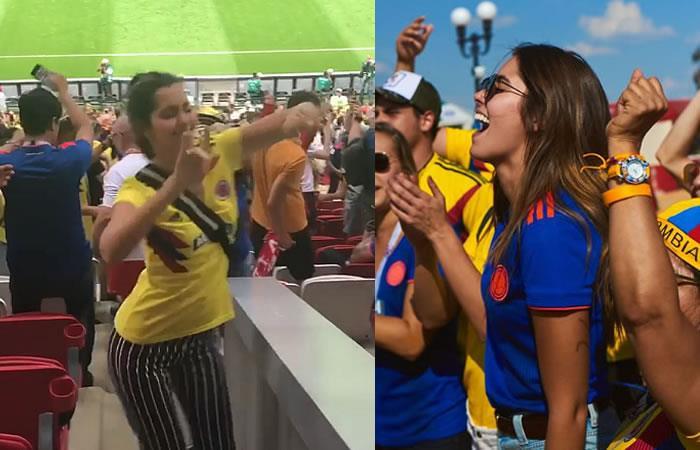 Paulina Vega celebra el triunfo de Colombia al ritmo de J Balvin. Foto: Instagram