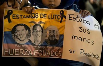 Fueron repatriados cuerpos de los periodistas ecuatorianos
