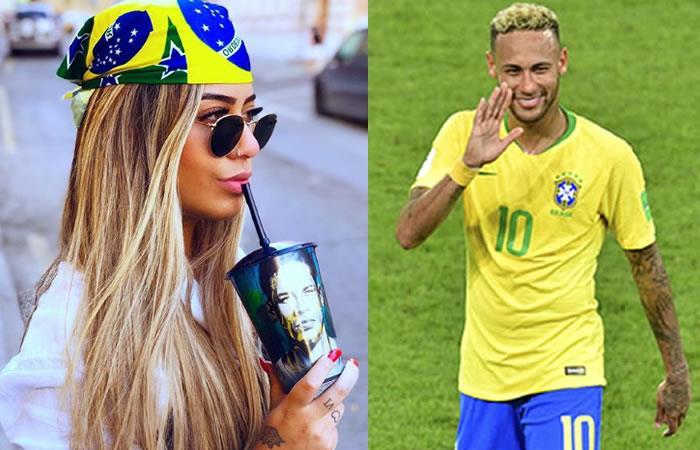 Tras gol de Neymar contra Costa Rica su hermana sufrió un accidente. Foto: Instagram