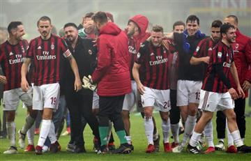 UEFA excluyó al AC Milan de la próxima Europa League