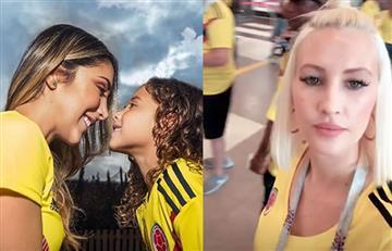 Daniela Ospina y Lorelei Tarón listas para apoyar a Colombia contra Senegal