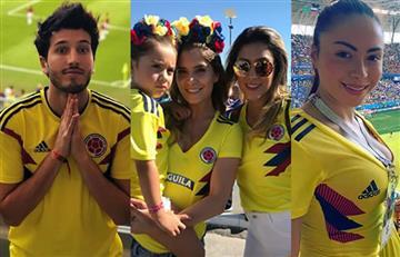 Así celebraron los famosos el triunfo de Colombia contra Senegal en Rusia