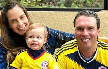 Hija de Laura Acuña enternece las redes con video apoyando a Colombia