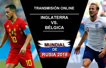 Inglaterra vs. Bélgica: Transmisión EN VIVO online