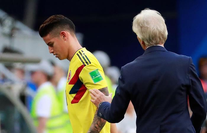 ¿Por qué James Rodríguez salió triste y enfadado del partido contra Senegal?