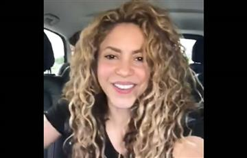 La eufórica celebración de Shakira tras el triunfo de Colombia contra Senegal