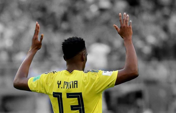 Yerry Mina le volvió a dar esperanza a Colombia en el Mundial de Rusia 2018. Foto: EFE